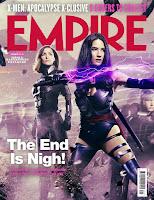Espectacular montaje con las portadas individuales de la revista Empire de 'X-Men: Apocalipsis'