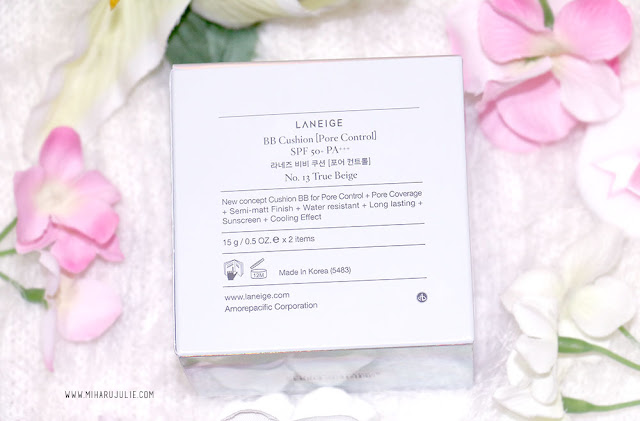 Laneige BB Cushion Pore Control No 13 True Beige Review