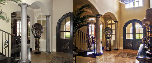 Decorative Pillars For Homes: Eye For Design: Decorating With Columns