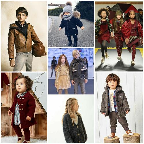 Moda infantil temporada Otoño - Invierno 2018-2019