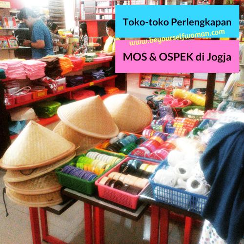 Toko-toko Perlengkapan MOS atau OSPEK di Jogja
