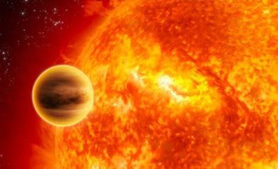 Skenario Proses Hancurnya Bumi Karena Matahari Memuai