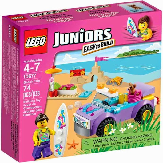 2015 LEGO Set 10677 Beach Trip