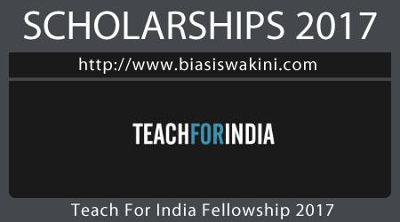 Teach For India Fellowship 2017