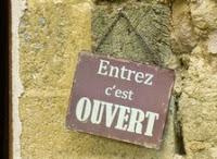 Entrez, c'est ouvert !