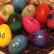 Recycling Plastic Easter Eggs: Option 3- Bunny Hunt Math Games