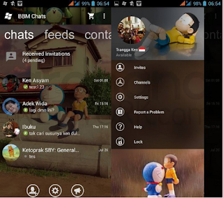BBM Windows Phone Doraemon v2.10.0.35 Apk