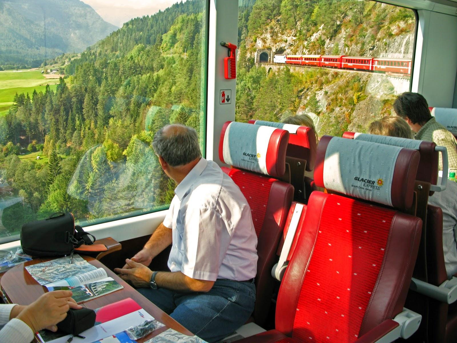 glaciärexpressen schweiz karta Kenneths Vardag: När resan är målet, 1 glaciärexpressen schweiz karta