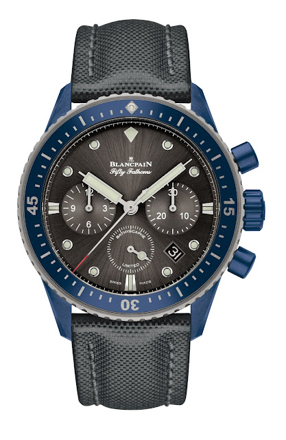 Bathyscaphe Chronographe Flyback Blancpain Ocean Commitment II Debajo del reloj Blog relojes