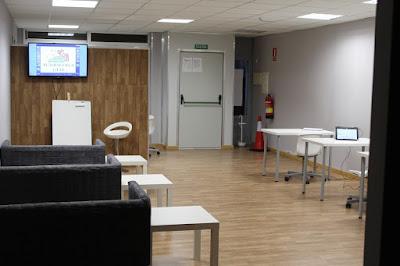 Las instalaciones de Autoescuela GT.18