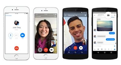 video call di grub messenger