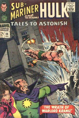 Tales to Astonish #86, Sub-Mariner