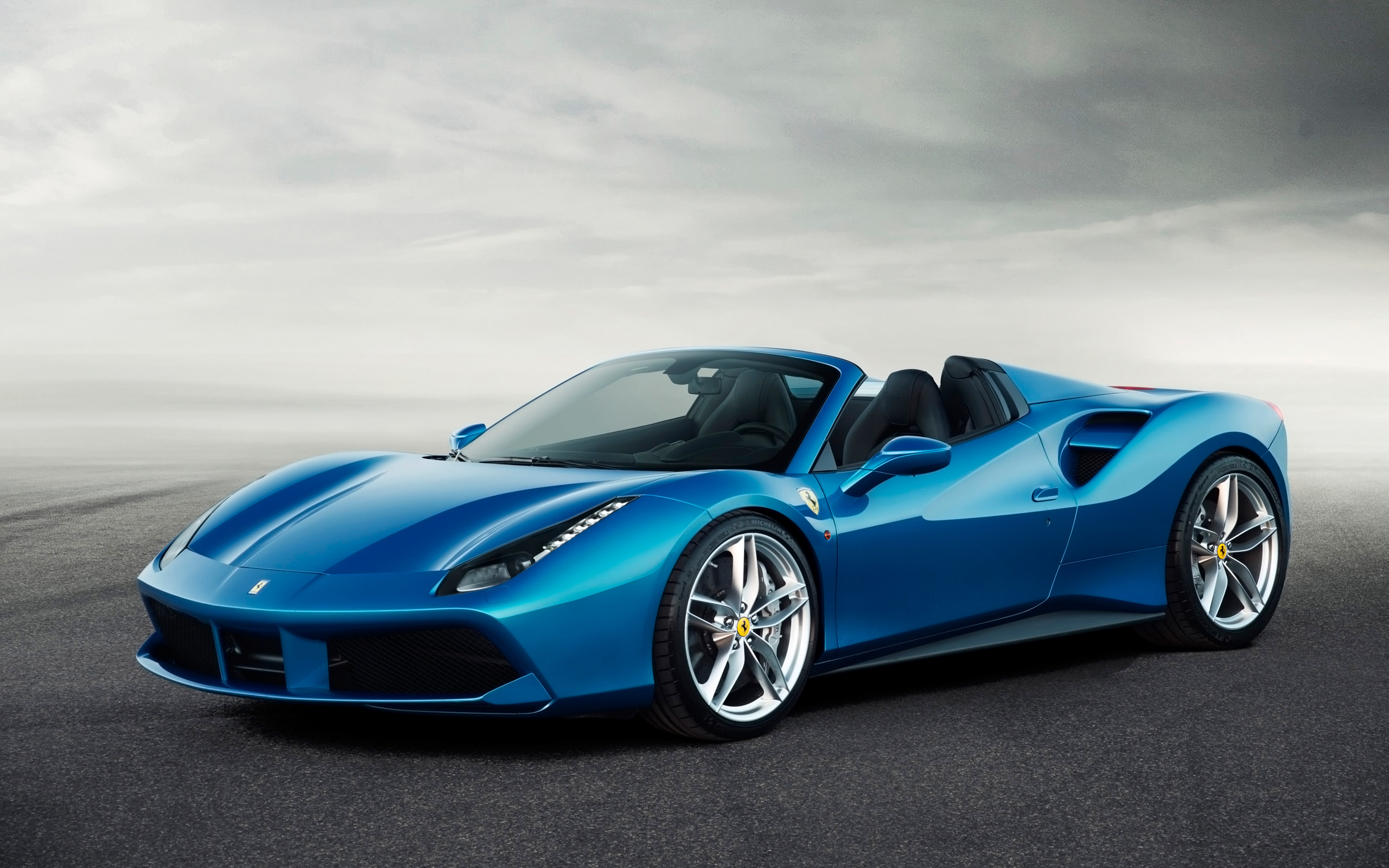 2016 Ferrari 488 Spider Ultra Hd Walls