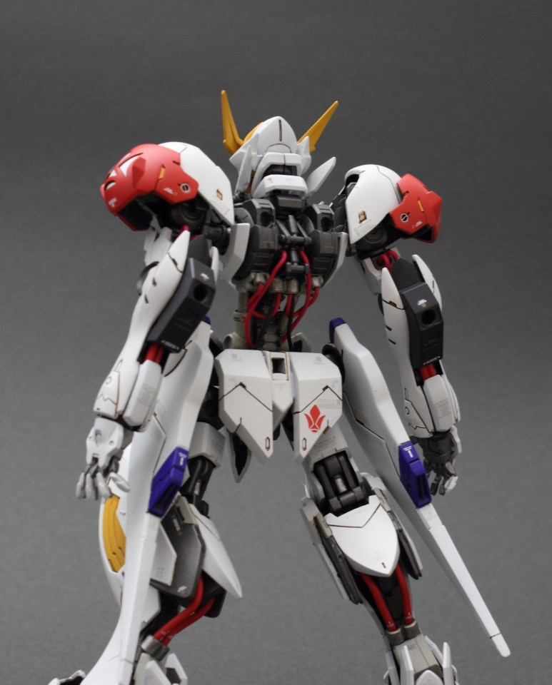 Custom Build: HG 1/144 Gundam Barbatos Lupus [Detailed]