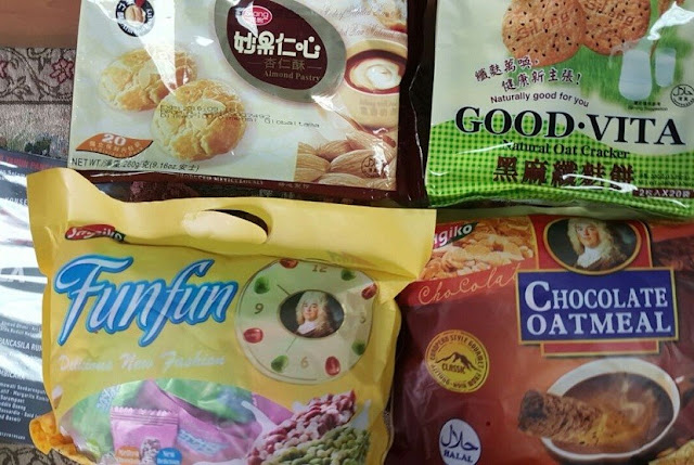 Produk Cina dengan label halal palsu