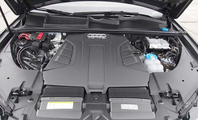 2017 Audi SQ7 Engine