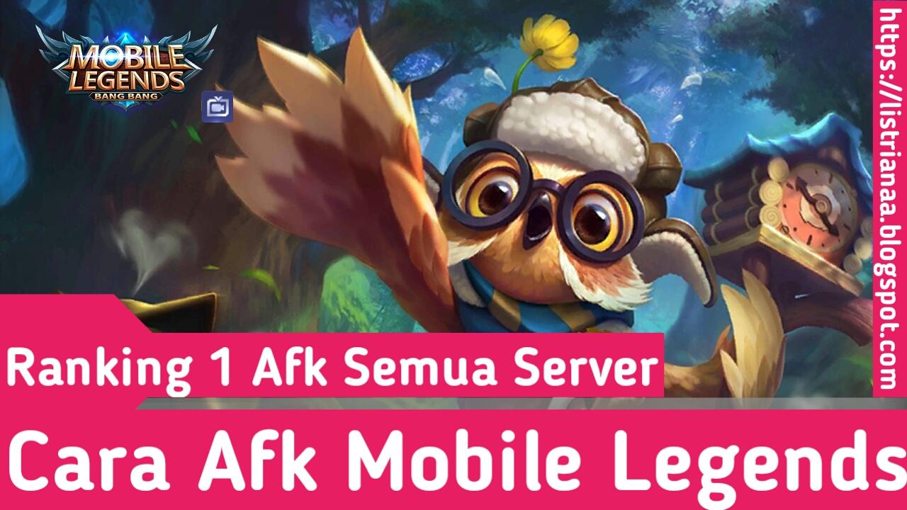 Tutorial Afk Mobile Legends 2