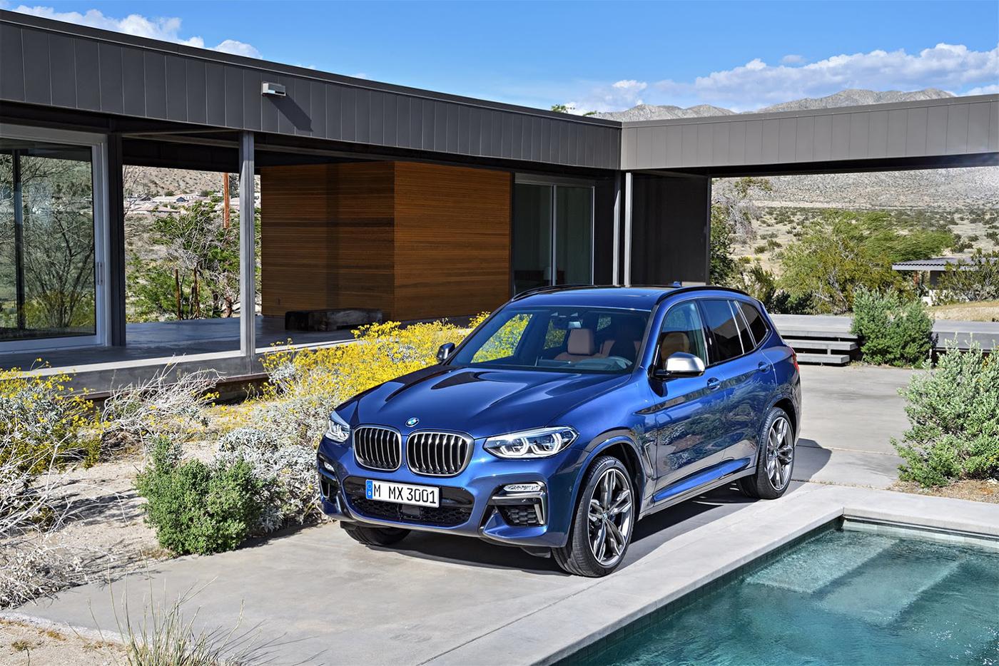 giá xe BMW X3 đời mới 2018