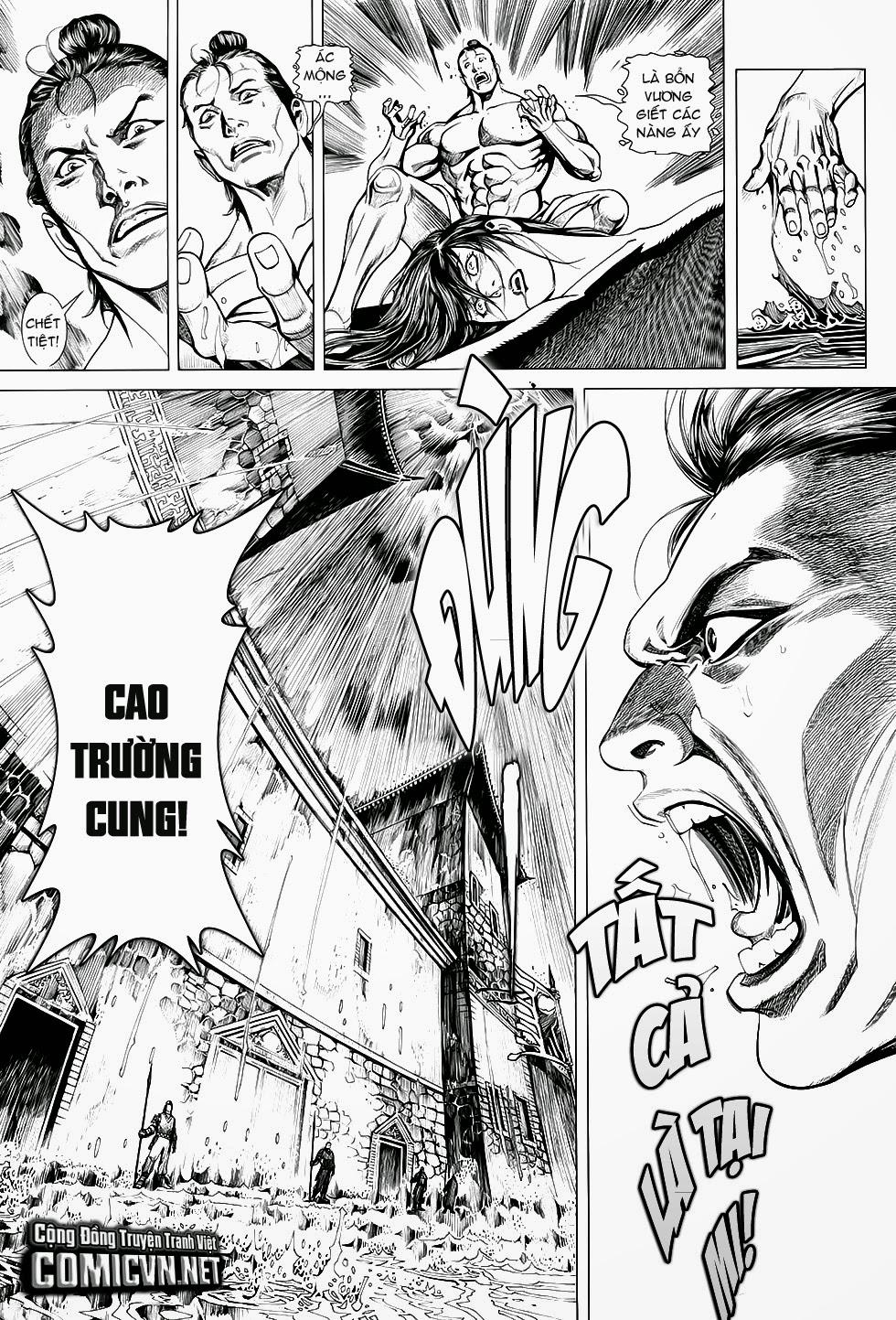 Chiến Phổ chapter 1: chiến thần lan lăng vương trang 10