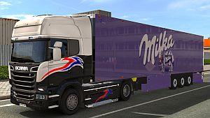 Milka trailer mod