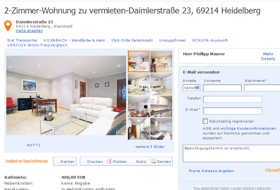 m nsterstra e 8 55116 mainz gegen wohnungsbetrug against rental scammers. Black Bedroom Furniture Sets. Home Design Ideas