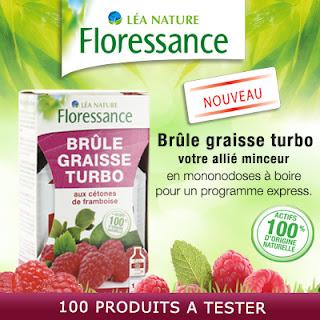 Testeur de Produit 100 Brûle Graisse Turbo Floressance à tester !