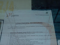 Lowongan kerja Supervisor Produksi - PT JAPFA COMFEED INDONESIA TBK