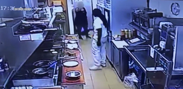 WATCH: Man Viciously Attacks Restaurant Employee — Then a Co-Worker Pulls Out Her Gun