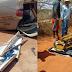 Motorista funerário surta, foge de cemitério com corpo no caixão e provoca acidente em Nova Soure-BA