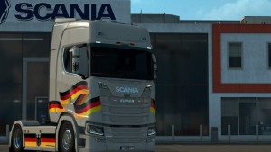 Germany Skin for Scania S