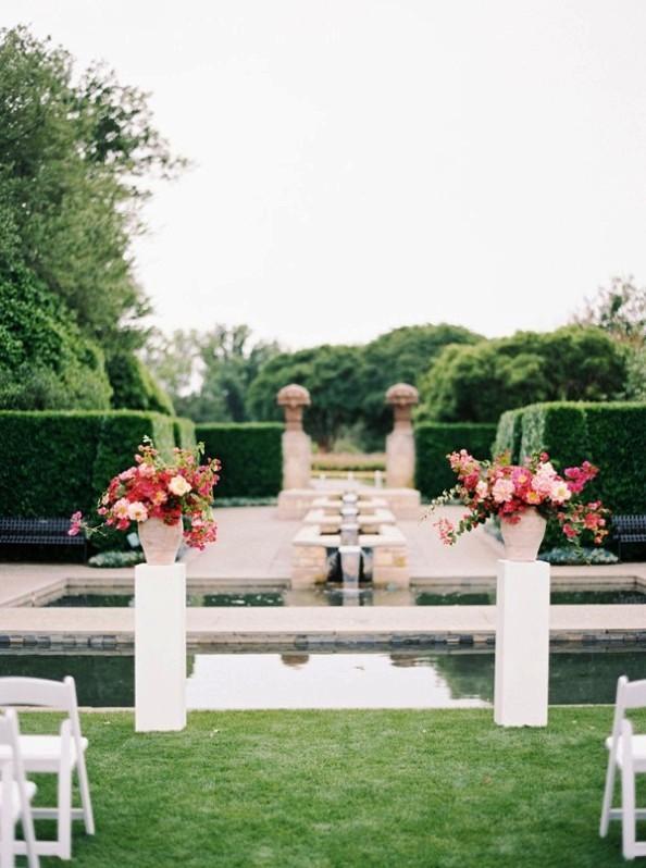 un espacio de boda neutro