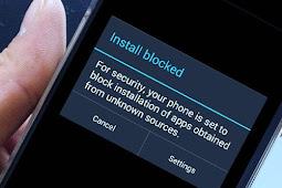 Tidak Bisa Klik 'Install' Saat Pasang apk Manual di Smartphone