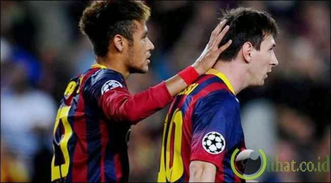 Neymar & Lionel Messi (=2)