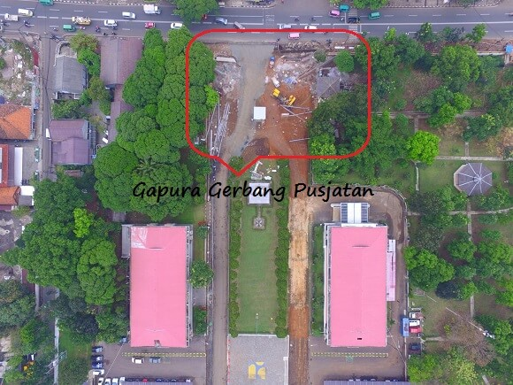 Erection Gerbang Pusjatan - Bandung