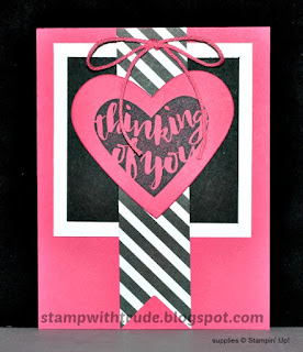 Pop of Paradise, Stampin' Up!, Stamp with Trude, greeting card, friendship