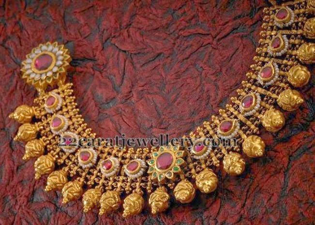 Antique Mughal Set By Tibarumal Jewellery Designs