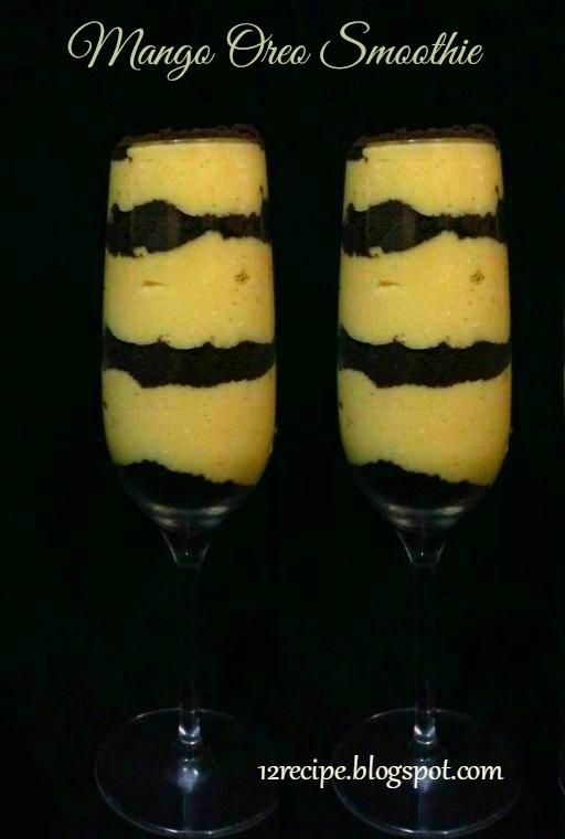 Mango Oreo Smoothie - Recipe Book