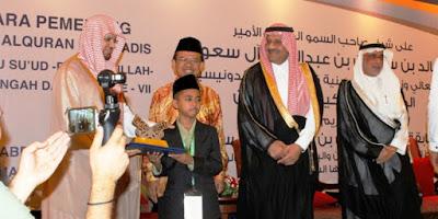 Juara Hafiz Qur'an