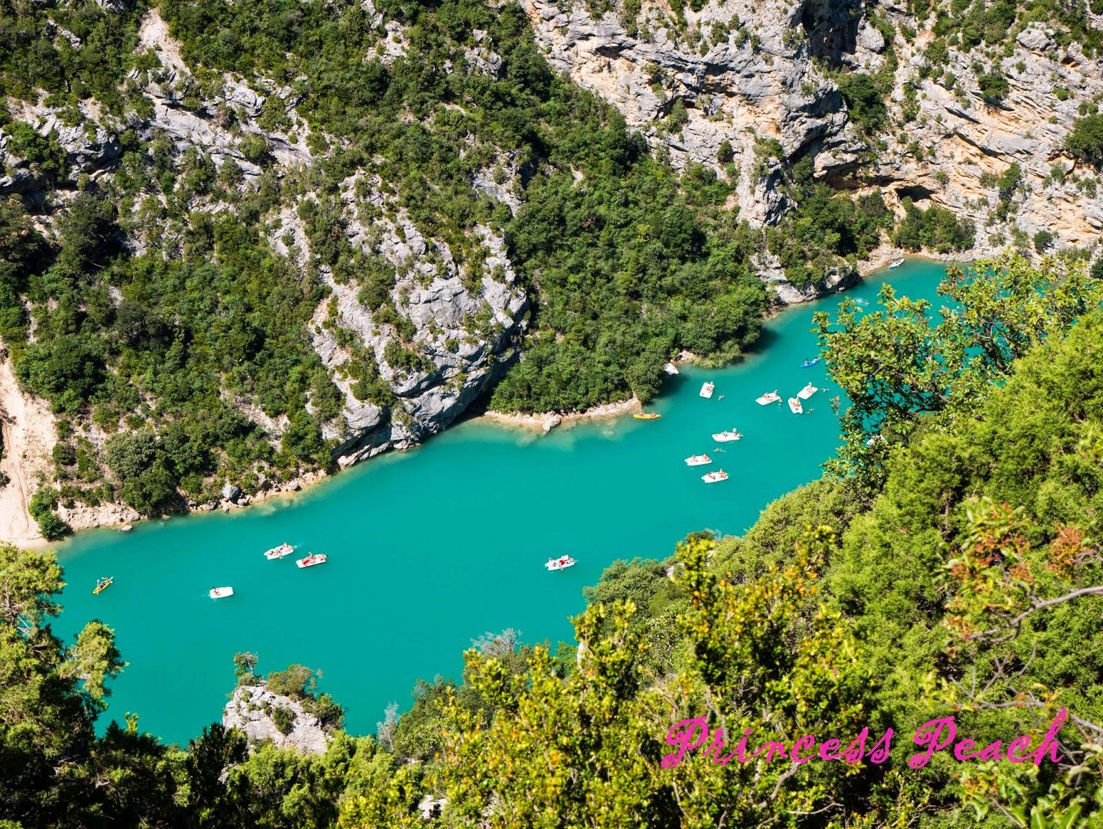 聖十字湖的小船們