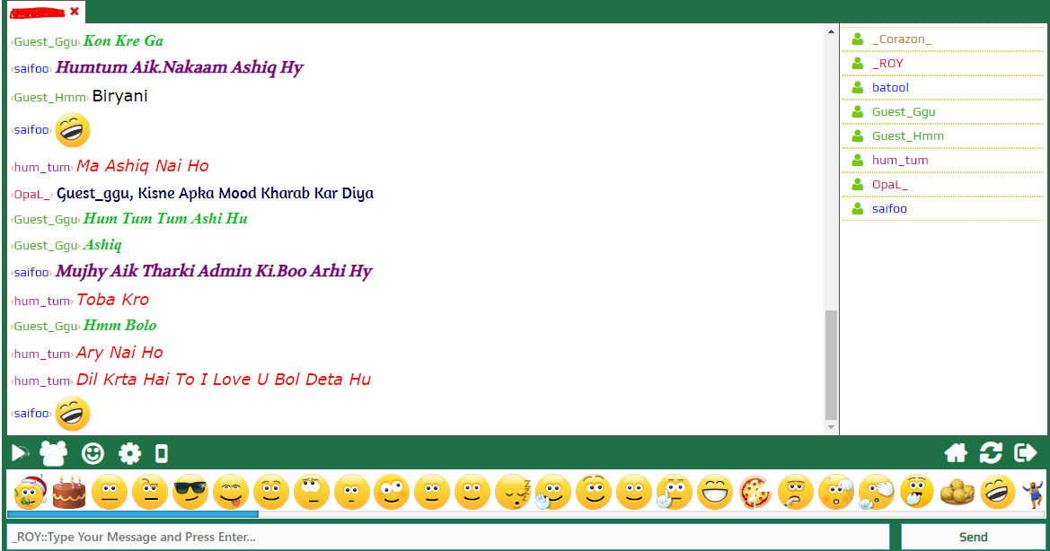 Hyd chat rooms