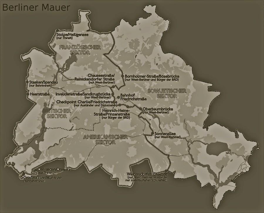 berliner mauer länge