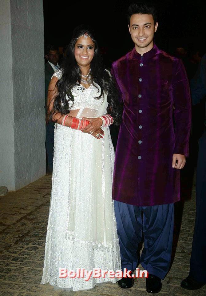 Arpita Khan and Ayush Sharma
