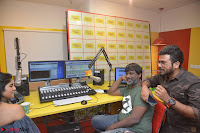 Mega Akash in a sleeveless Off Shoulder Cute Dress Stunnign beauty at Radio Mirchi Promoting Movie LIE ~ Celebrities Galleries 047.JPG