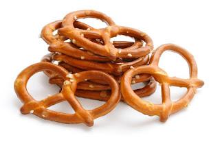 Pretzels blandos  – soft pretzels –
