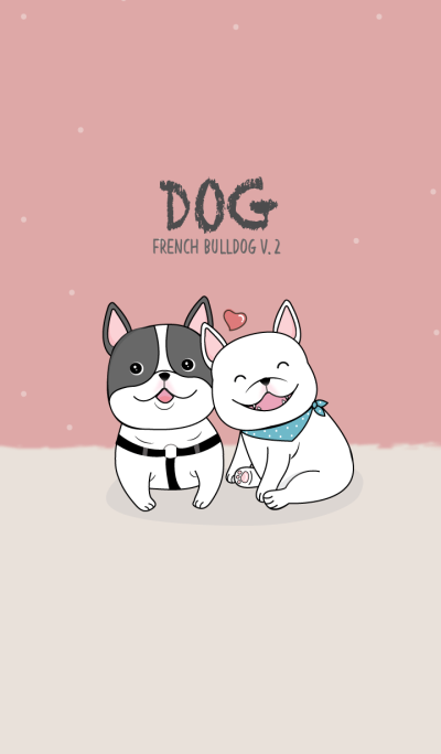 My France bulldog couple.