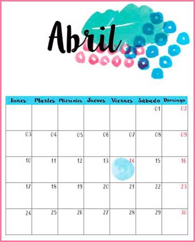 Mi Sala Amarilla: Efemérides Abril 2017