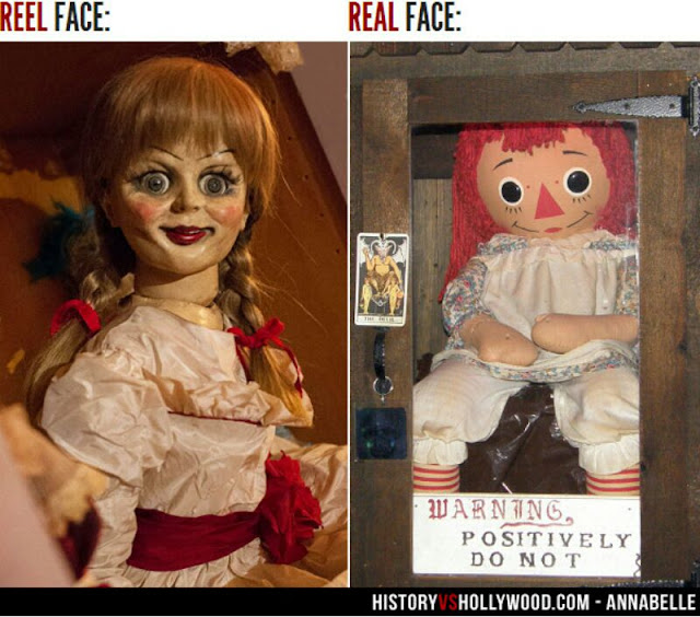 Búp bê Annabelle là có thực