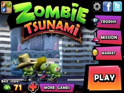 Zombie Tsunami v4.0.0 Kaynak Ve Market Hileli