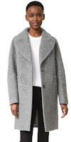 Carven Шерстяное пальто 790$