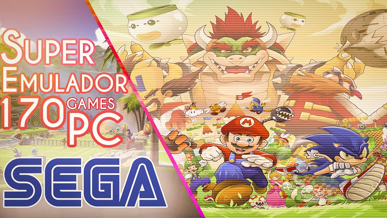 Descargar Emulador De Sega Para Pc Mas De 170 Juegos Mega
